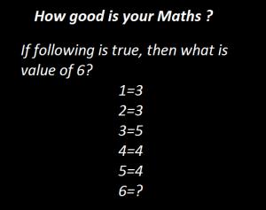 Math puzzle.