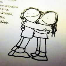 hug and tug.