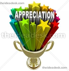 appreciation trophy