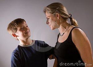 mother-son-teasing-each-other-17649951