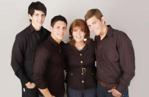 mother and three sons