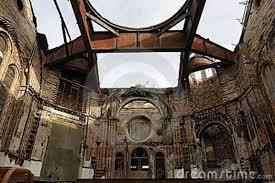 building in ruin