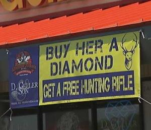 Geller gun diamond offer