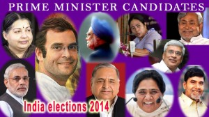 India elections 2014 prime minister candidates