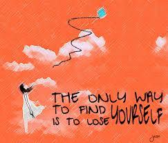 lose oneself