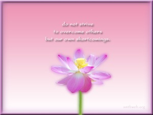 Do-not-strive-to-overcome-others-but-our-own-shortcomings.