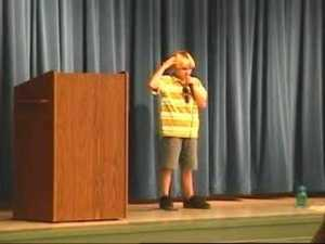 fifth grader speech