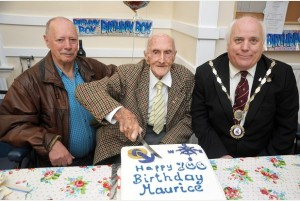 100 year old Maurice Sowter, Camborne 5