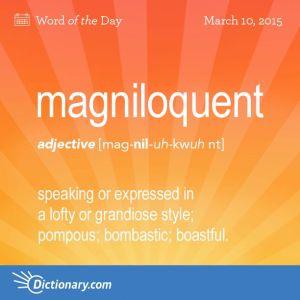 magniloquent