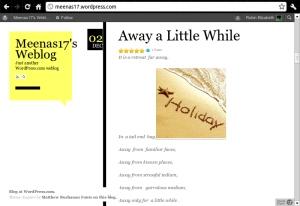 Meenas17s weblog