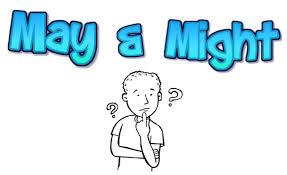 might and may