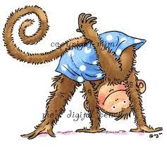 monkey tricks.