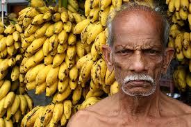 old banana vendor.