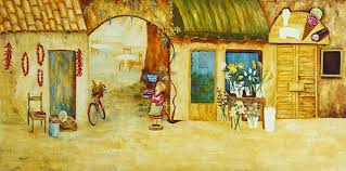 life in a village