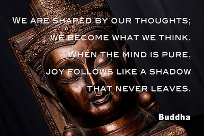 quote Buddha from Dhammapada on karma by House of Doves flickr 8502901403_8ea6787c0f