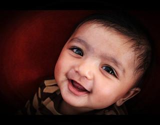 child's smile
