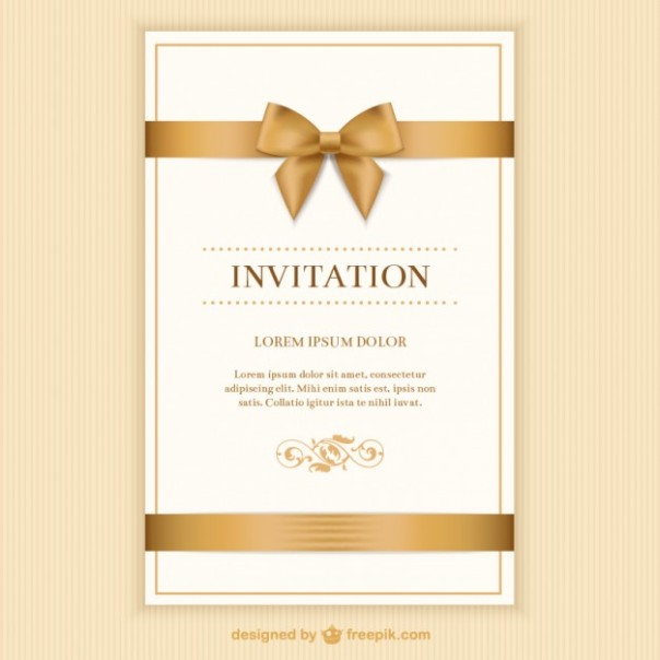 retro-invitation-card-with-a-ribbon_23-2147510010